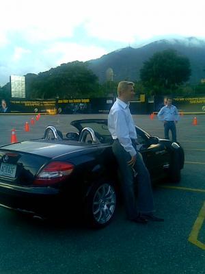 Hakkinen estuvo aqui en Caracas