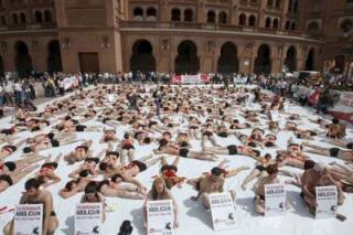 Cientos de personas manifiestan en Madrid contra las corridas de toros